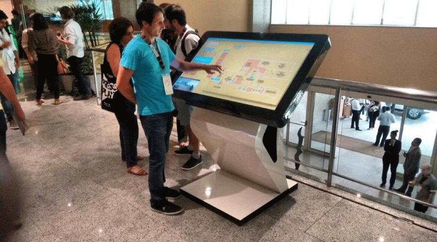 Tv 55'' tela touchscreen